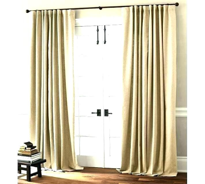 Patio Door Curtains Walmart For Sliding Glass Doors For Copper Grove Speedwell Grommet Window Curtain Panels (#35 of 50)