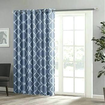 Patio Door Drapes Grommets Curtains Panels With Slider Plan Throughout Patio Grommet Top Single Curtain Panels (#27 of 38)