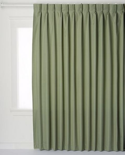 Patio Door Thermal Insulated Drapes – Sliding Door Pinch In Patio Grommet Top Single Curtain Panels (#29 of 38)