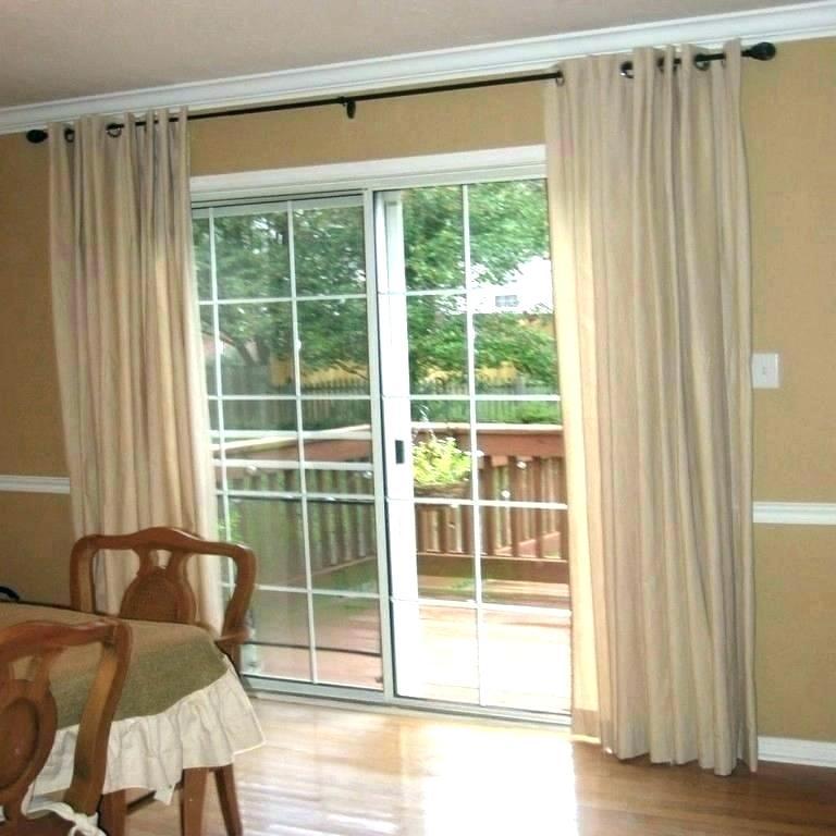 Patio Door Wood Blinds – On Design (#35 of 50)
