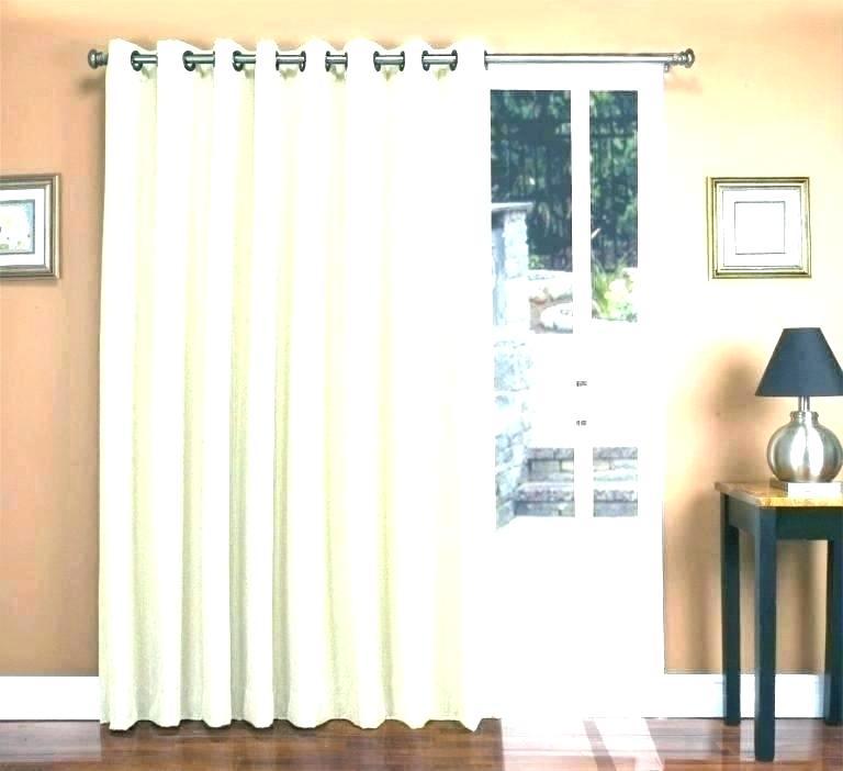 Patio Slider Curtains – Milfordlaino (#37 of 50)