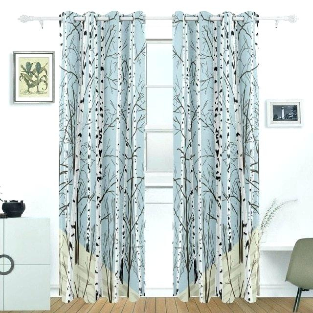 Patio Window Curtains – Reinasymistersdepanama Intended For Grommet Blackout Patio Door Window Curtain Panels (View 32 of 50)