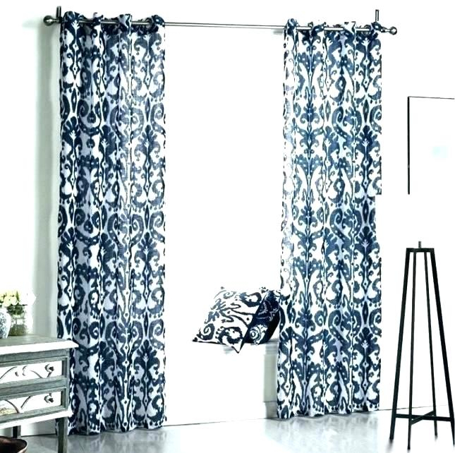 Patterned Drapes – Thealternate Pertaining To Infinity Sheer Rod Pocket Curtain Panels (#28 of 50)