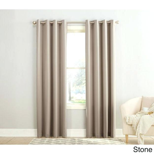 Photo 5 Of Inch Drapes Design Inspirations Sun Zero Grommet Inside Grommet Room Darkening Curtain Panels (View 29 of 50)