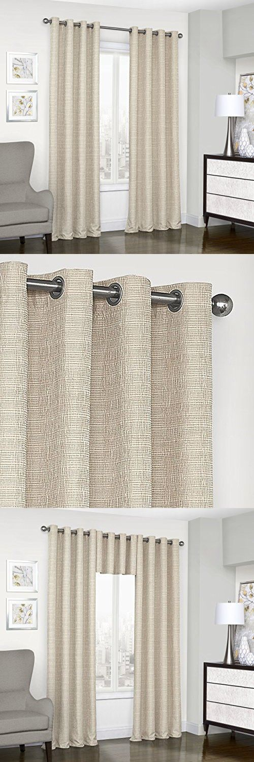 Pin On Home Decor With Regard To Eclipse Trevi Blackout Grommet Window Curtain Panels (View 19 of 26)