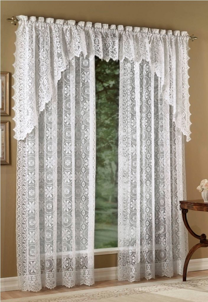 Pin On Stribal | Design Interior Home Intended For Luxurious Old World Style Lace Window Curtain Panels (View 3 of 50)