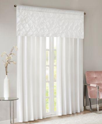 Pin On Window Throughout Laya Fretwork Burnout Sheer Curtain Panels (#28 of 38)