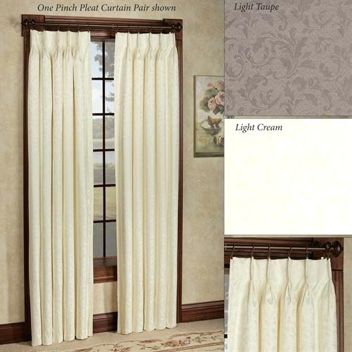Pinch Pleat Curtains Diagonal Check Tops You Pay 1 2 Down Within Double Pinch Pleat Top Curtain Panel Pairs (#33 of 50)