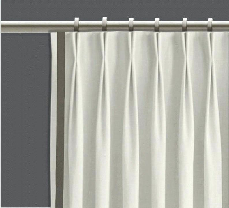 Pinch Pleat Window Curtains – Jcubasgarcia Intended For Double Pinch Pleat Top Curtain Panel Pairs (#40 of 50)