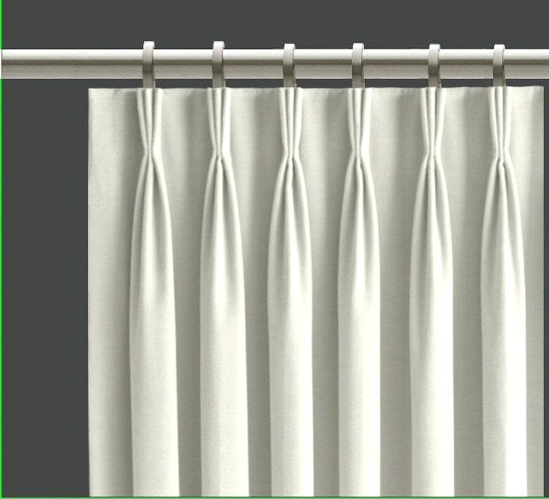 Pinch Pleat Window Panels – Clickninja (#41 of 50)