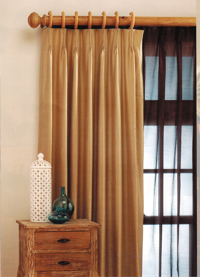 Pinch Pleated Sheers & Drapery – Fire Retardant For Solid Cotton Pleated Curtains (#30 of 50)