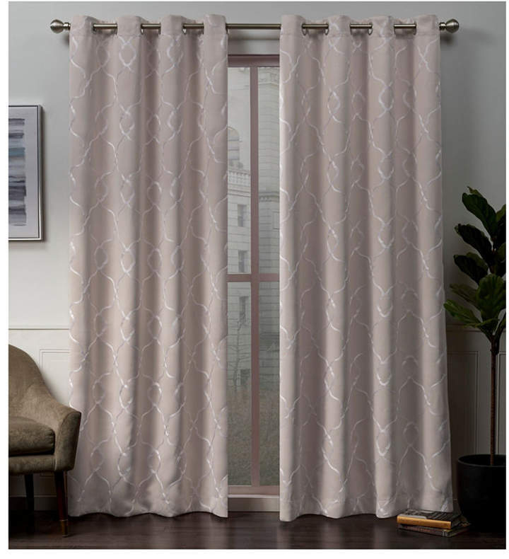 Pink Blackout Curtains – Shopstyle Pertaining To Riley Kids Bedroom Blackout Grommet Curtain Panels (#17 of 28)
