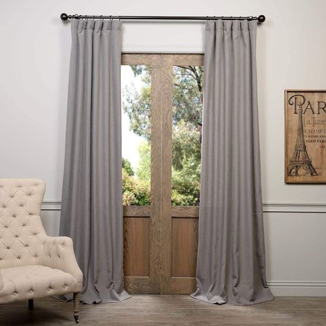 Pinterest – Пинтерест Throughout Heavy Faux Linen Single Curtain Panels (View 28 of 32)