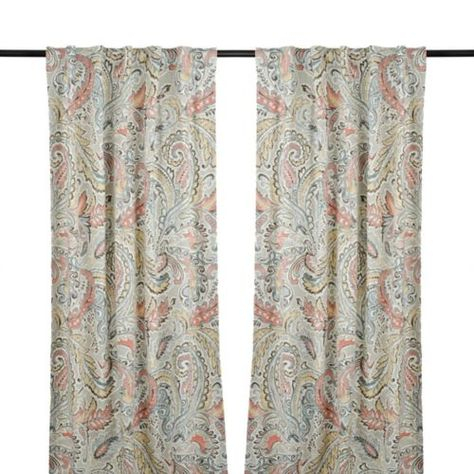 Pinterest – Пинтерест Within Sunsmart Dahlia Paisley Printed Total Blackout Single Window Curtain Panels (#17 of 45)