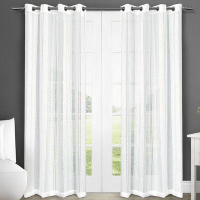 Pinterest Regarding Luxury Collection Venetian Sheer Curtain Panel Pairs (#31 of 36)