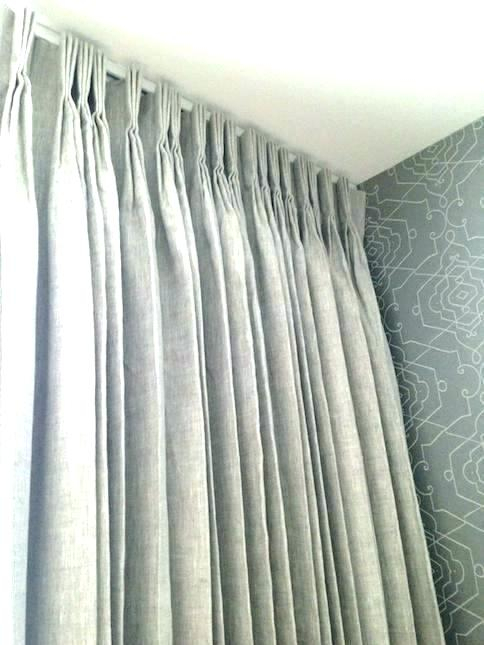 Pleated Blackout Curtains – Admworlddataprovider Throughout Sateen Woven Blackout Curtain Panel Pairs With Pinch Pleat Top (#24 of 40)