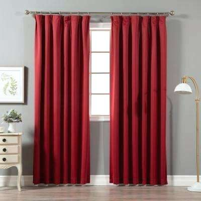 Pleated Blackout Curtains – Asbestosexposure Within Signature Pinch Pleated Blackout Solid Velvet Curtain Panels (View 25 of 50)