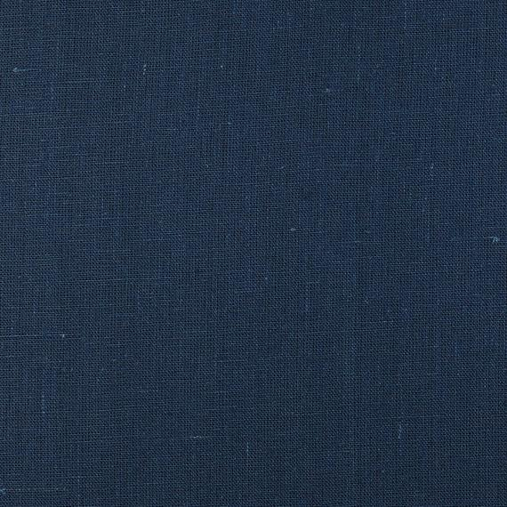 Pleated Curtains, Unlined, Solid Color Drapes, Navy Blue Cotton Drapes,  Custom Curtain Panels, Sturdy Cotton For Solid Cotton Pleated Curtains (#33 of 50)