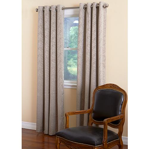 Portland Room Darkening Foam Back Grommet Curtain Panel Intended For Grommet Curtain Panels (View 33 of 39)
