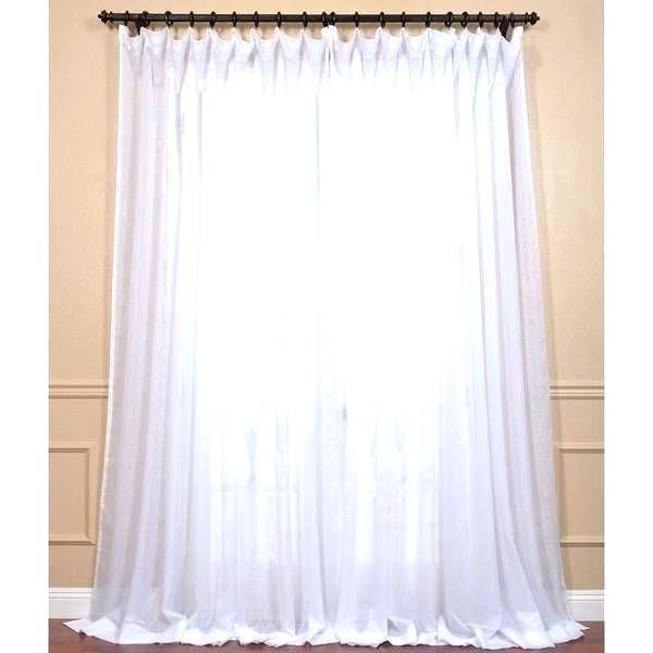 Pottery Barn Sheer Curtains – Folha (#33 of 50)