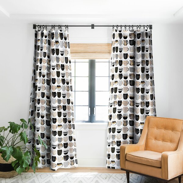 Pretty Curtains | Wayfair Within Classic Hotel Quality Water Resistant Fabric Curtains Set With Tiebacks (#30 of 50)