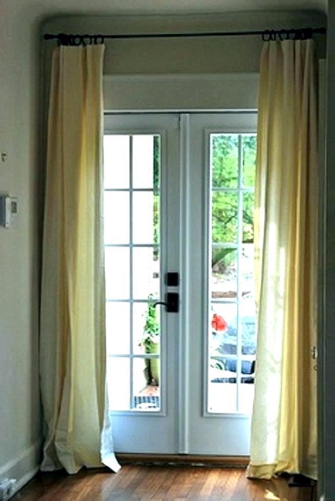 Pretty Sheer Door Panels – To Tech (View 32 of 50)