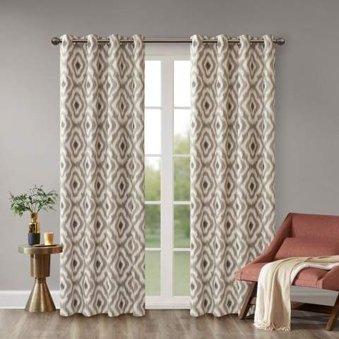 Printed Curtain Panel – Shopstyle Pertaining To Caldwell Curtain Panel Pairs (View 13 of 27)