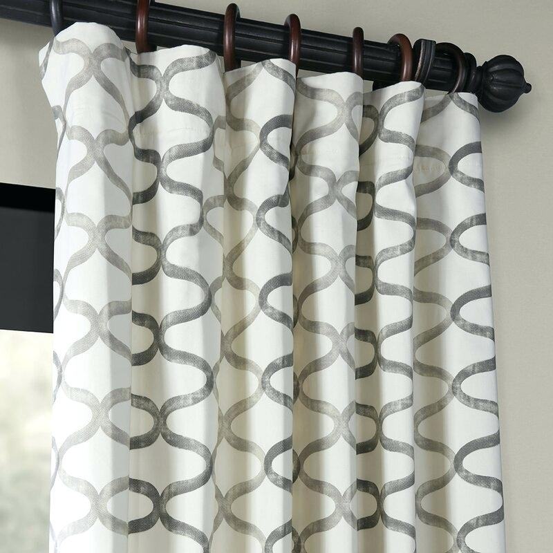 Printed Curtain Panels – Kreativandmore Regarding Ink Ivy Ankara Cotton Printed Single Curtain Panels (View 11 of 50)