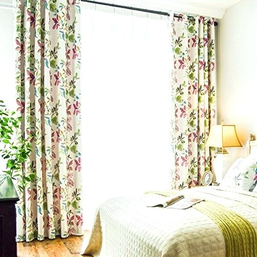 Printed Drapes – Tomcrook Intended For Mecca Printed Cotton Single Curtain Panels (View 45 of 50)
