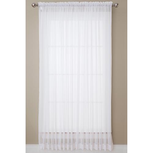 Prism Thermalite Batiste Rod Pocket Curtain Panel Within Rod Pocket Curtain Panels (View 29 of 34)
