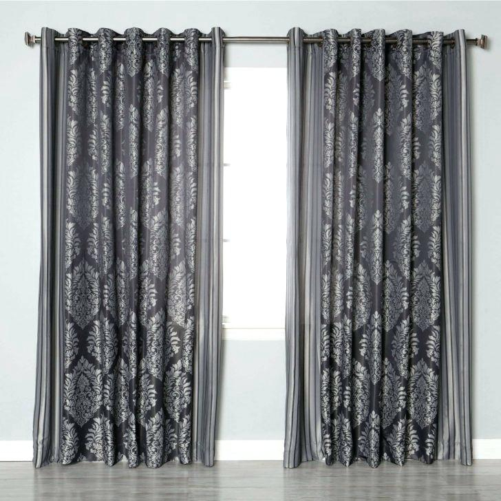 Purple Curtains Kids Room In Elrene Aurora Kids Room Darkening Layered Sheer Curtains (View 39 of 40)