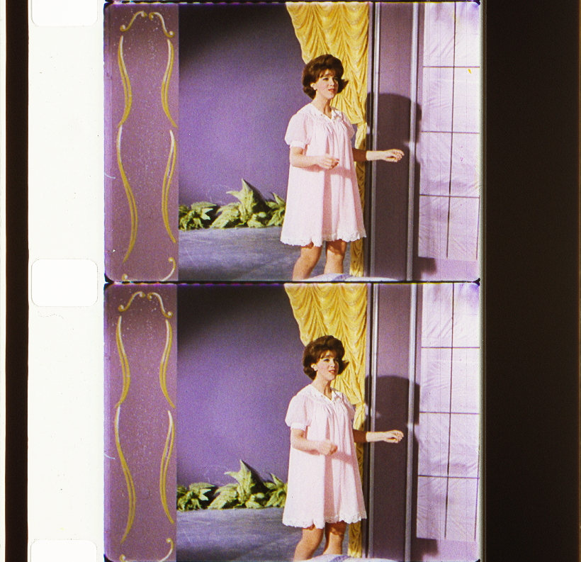 Queen Of The House (1965) | Timeline Of Historical Film Colors With Ladonna Rod Pocket Solid Semi Sheer Window Curtain Panels (View 37 of 47)
