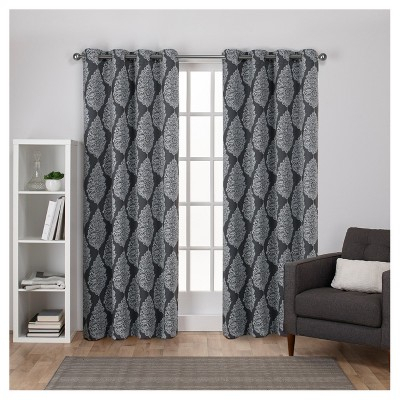 Inspiration about Queensland Printed Medallion Sateen Woven Room Darkening With The Curated Nomad Duane Blackout Curtain Panel Pairs (#3 of 50)