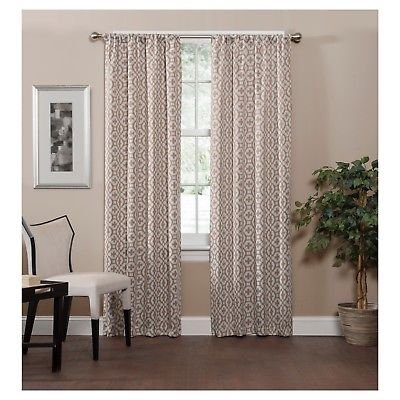 Inspiration about Radnor Trellis Thermaweave Blackout Curtaineclipse 37X 95 Buy 3+ Get  50% Off 885308459640 | Ebay Intended For Thermaweave Blackout Curtains (#1 of 47)