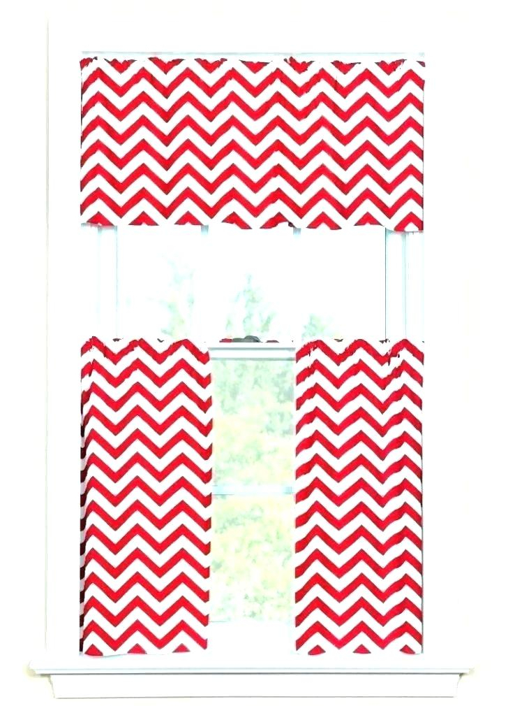 Inspiration about Red Chevron Curtains – Tuguia.co For Chevron Blackout Grommet Curtain Panels (#46 of 50)