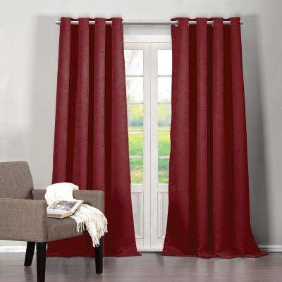 Red – Duck River – Curtains & Drapes – Window Treatments Pertaining To Dolores Room Darkening Floral Curtain Panel Pairs (View 25 of 35)