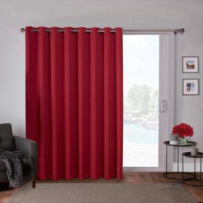 Inspiration about Red – Solid/gradient – Curtains & Drapes – Window Treatments Regarding Oxford Sateen Woven Blackout Grommet Top Curtain Panel Pairs (#31 of 44)
