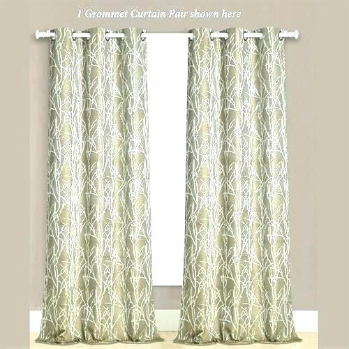 Inspiration about Remarkable Navy Grommet Curtains – Hbox.club With Superior Leaves Insulated Thermal Blackout Grommet Curtain Panel Pairs (#38 of 50)
