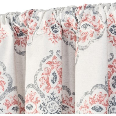 Reston Curtain Panel Coral (Pink) 84 – Eclipse   Products Throughout Gray Barn Dogwood Floral Curtain Panel Pairs (View 41 of 48)