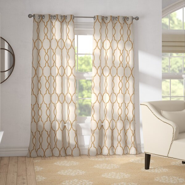 Inspiration about Reversible Curtains | Wayfair For Inez Patio Door Window Curtain Panels (#37 of 50)