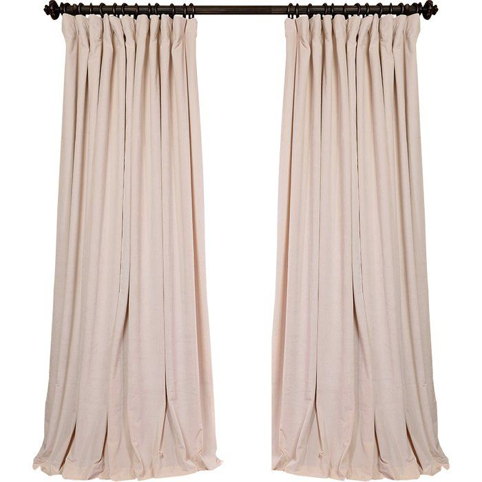 Rhinehart Solid Max Blackout Thermal Tab Top Single Curtain In Evelina Faux Dupioni Silk Extreme Blackout Back Tab Curtain Panels (View 28 of 33)