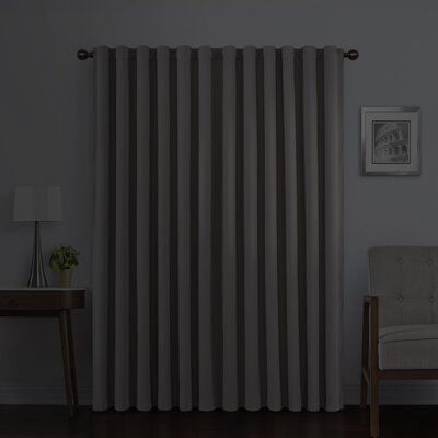 Rideau Placard Entree #placardavec Intended For Evelina Faux Dupioni Silk Extreme Blackout Back Tab Curtain Panels (View 30 of 33)