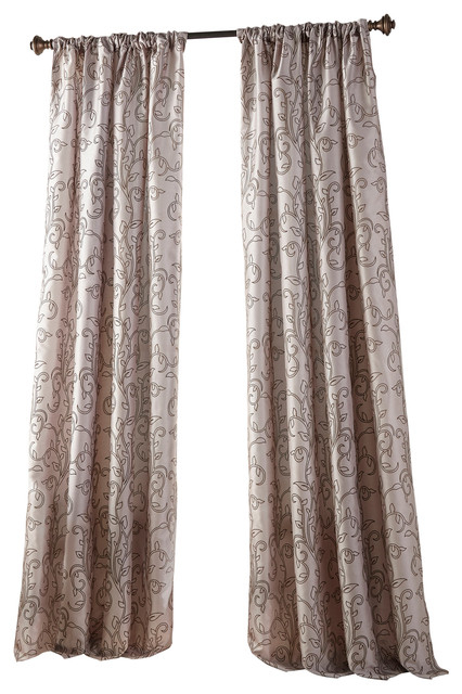 """Inspiration about Riley Semi Sheer Rod Pocket Single Curtain Panel, Purple, 54""""x84"""" In Riley Kids Bedroom Blackout Grommet Curtain Panels (#10 of 28)"""