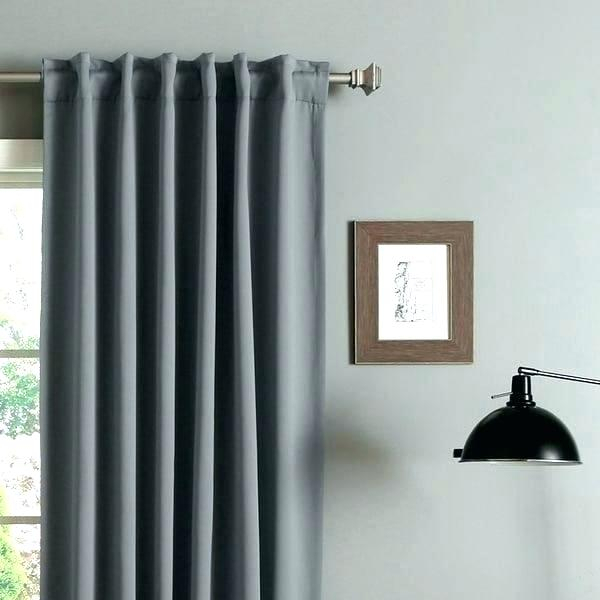 Rod Pocket Blockout Curtains Blackout Curtain Panel Within Thermal Rod Pocket Blackout Curtain Panel Pairs (#38 of 50)