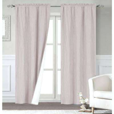 Rod Pocket Outdoor Curtains – Lasagencias For Thermal Rod Pocket Blackout Curtain Panel Pairs (#39 of 50)