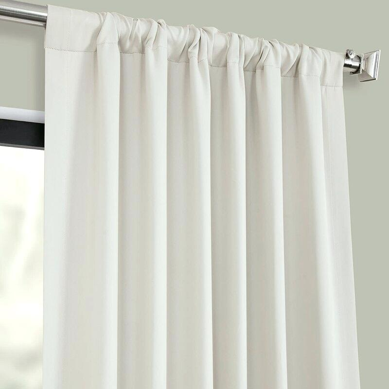 Rod Pocket With Thermal Rod Pocket Blackout Curtain Panel Pairs (#40 of 50)