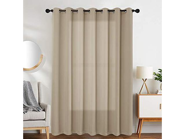 Room Darkening Curtain 63 Inches Long For Living Room Moderate Blackout  Window Curtain Panel For Bedroom Triple Weave Drape Grommet Top52 W X 63 L1 Intended For Grommet Room Darkening Curtain Panels (View 31 of 50)