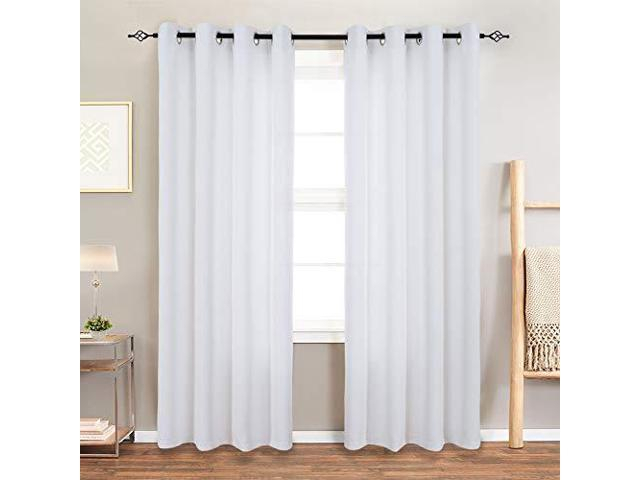 Room Darkening Curtain 63 Inches Long For Living Room Moderate Blackout  Window Curtain Panel For Bedroom Triple Weave Drape Grommet Top52 W X 63 L1 Within Grommet Room Darkening Curtain Panels (View 32 of 50)