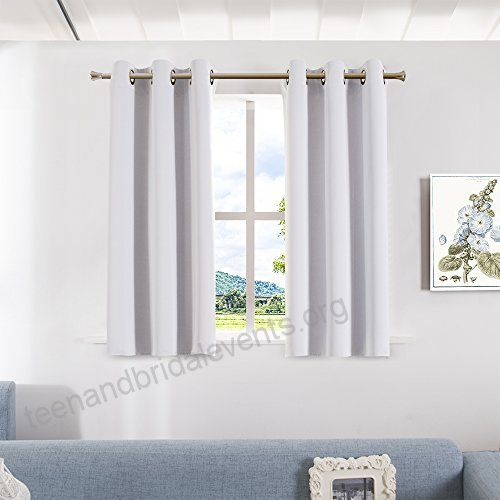 Inspiration about Room Darkening Curtain Panels For Living Room – Aquazolax Pertaining To Grommet Room Darkening Curtain Panels (#36 of 50)