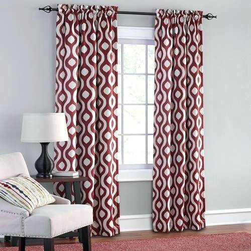 Inspiration about Room Darkening Curtain Sets – Lasagencias With Weeping Flowers Room Darkening Curtain Panel Pairs (#39 of 50)